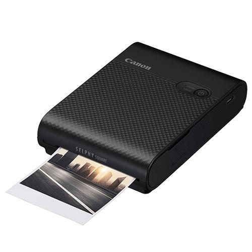Selphy Square QX10 Printer in Black Product Image (Primary)