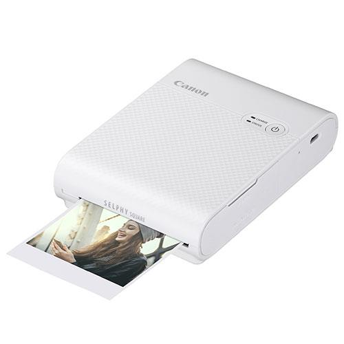 Selphy Square QX10 Printer in White Product Image (Primary)