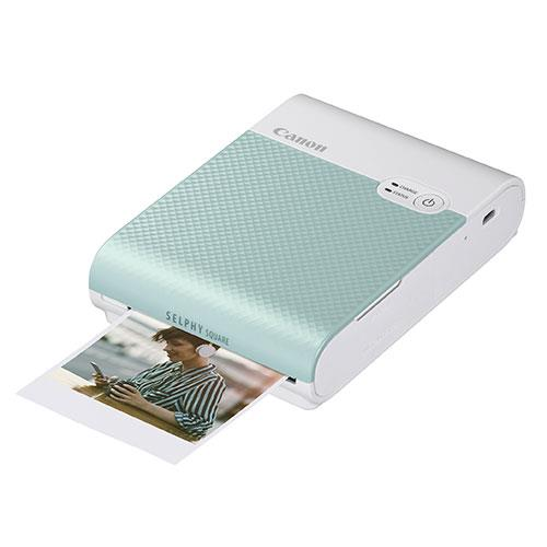 Selphy Square QX10 Printer in Green Product Image (Primary)