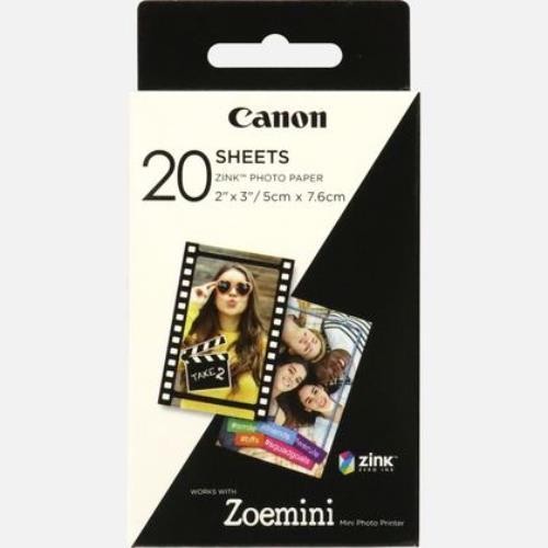 Canon ZoeMini PrinterPaper 20 Product Image (Primary)
