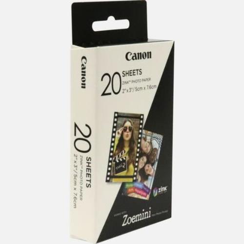 Canon ZoeMini PrinterPaper 20 Product Image (Secondary Image 1)
