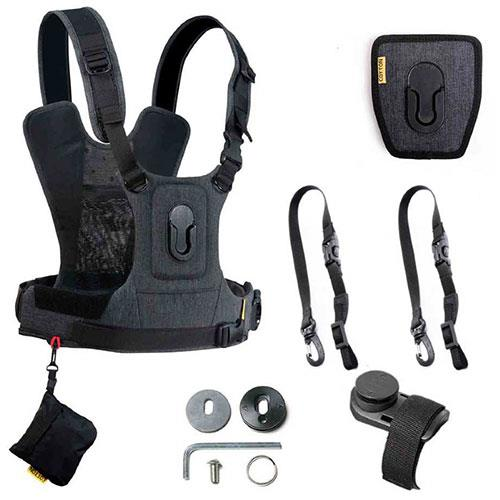 G3 Binocular and Camera Harness in Charcoal Grey  Product Image (Secondary Image 1)