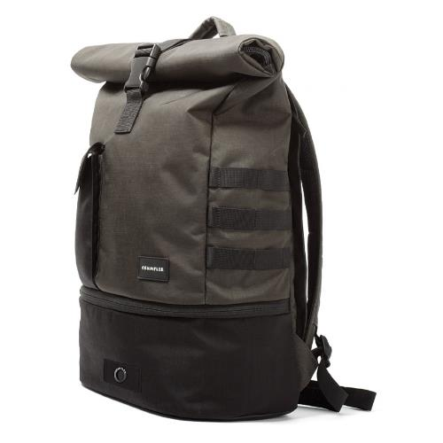 Crum Trooper Backpack Black Product Image (Secondary Image 1)
