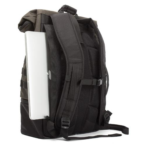 Crum Trooper Backpack Black Product Image (Secondary Image 4)