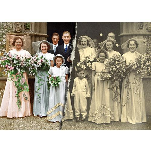 """Image Restoration (up to 12"""" x 8"""") Product Image (Primary)"""