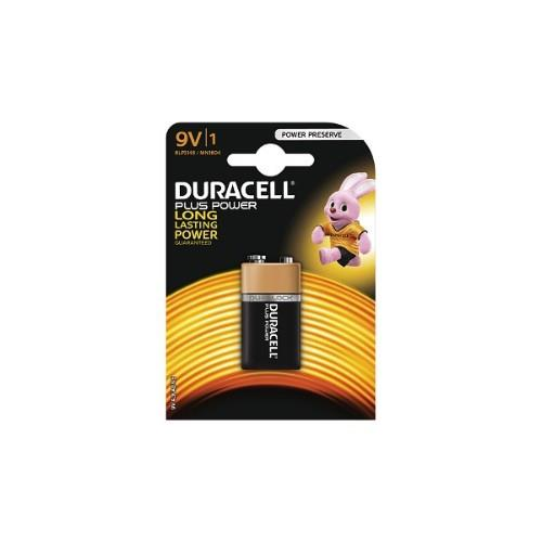 DURACELL MN1604 9V Plus Product Image (Primary)