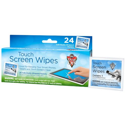 TOUCH SCREEN WIPES 24ct CARTON Product Image (Primary)