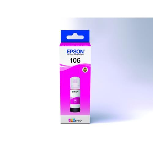 106 ECOTank Magenta INK Bottle Product Image (Primary)