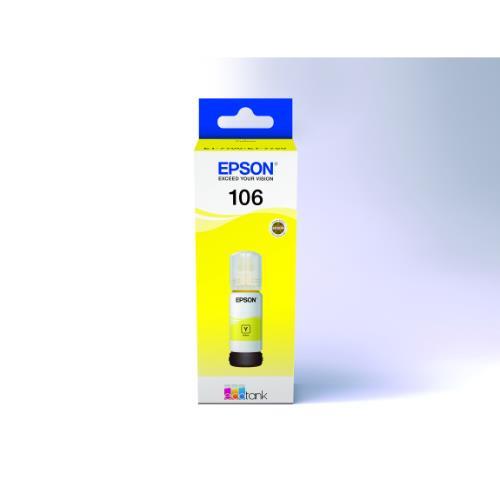 106 ECOTank Yellow INK Bottle Product Image (Primary)