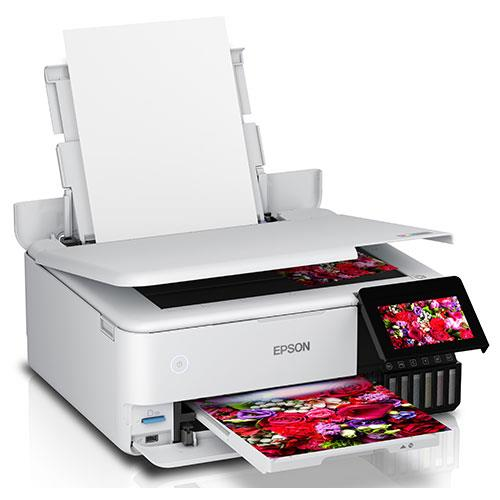 EcoTank ET-8500 A4 All-In-One Printer Product Image (Secondary Image 1)