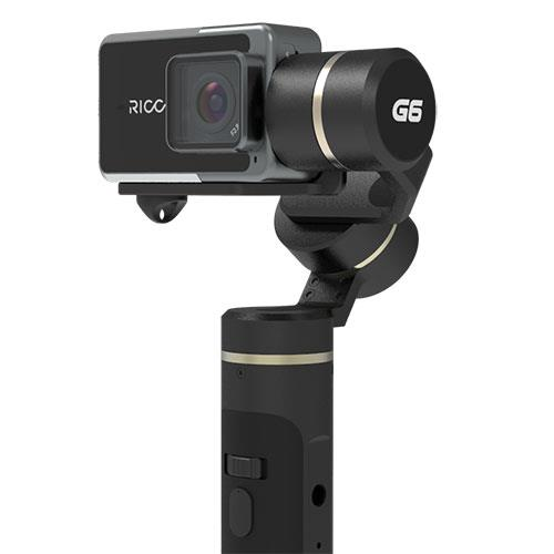 Ricca Action Camera with G6 Gimbal Product Image (Primary)