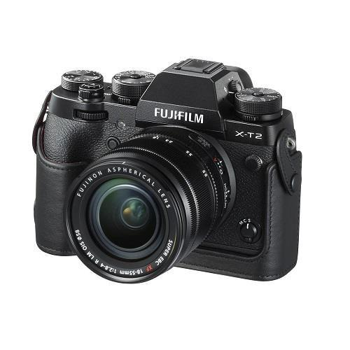 Bottom Leather Case for Fujifilm X-T2 - Ex Display Product Image (Secondary Image 1)