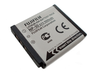 NP-50 Lithium-Ion Rechargeable Battery Product Image (Primary)