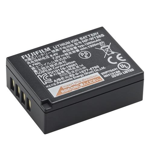 FUJI NP-W126S LI-ION BATTERY Product Image (Primary)