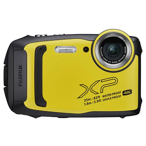 Finepix XP140 Digital Camera in Yellow Product Image (Primary)