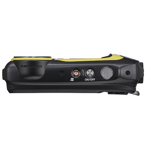 Finepix XP140 Digital Camera in Yellow Product Image (Secondary Image 3)