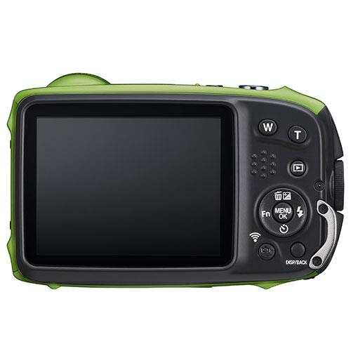 Finepix XP140 Digital Camera in Lime Green Product Image (Secondary Image 1)