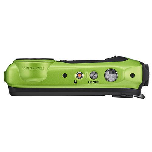 Finepix XP140 Digital Camera in Lime Green Product Image (Secondary Image 3)