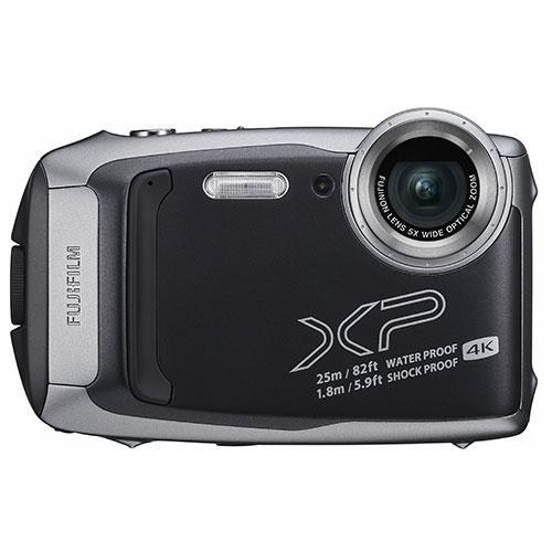 Finepix XP140 Digital Camera in Graphite Product Image (Primary)