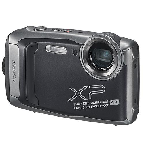 Finepix XP140 Digital Camera in Graphite Product Image (Secondary Image 2)