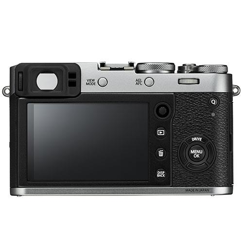Fujifilm X100F Digital Camera in Silver Product Image (Secondary Image 1)