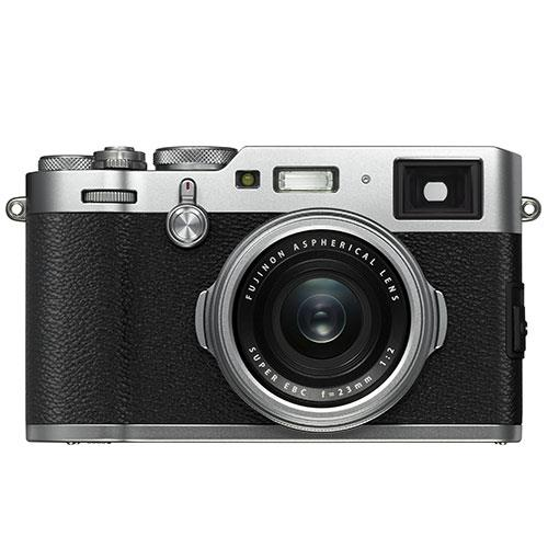 Fujifilm X100F Digital Camera in Silver Product Image (Secondary Image 2)