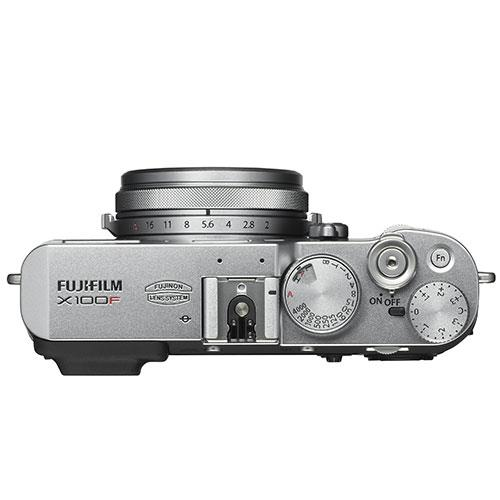 Fujifilm X100F Digital Camera in Silver Product Image (Secondary Image 3)