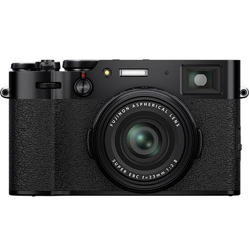 X100V Digital Camera in Black Product Image (Primary)