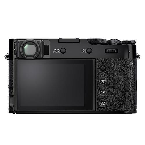 X100V Digital Camera in Black Product Image (Secondary Image 1)