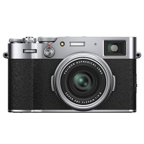 X100V Digital Camera in Silver Product Image (Primary)