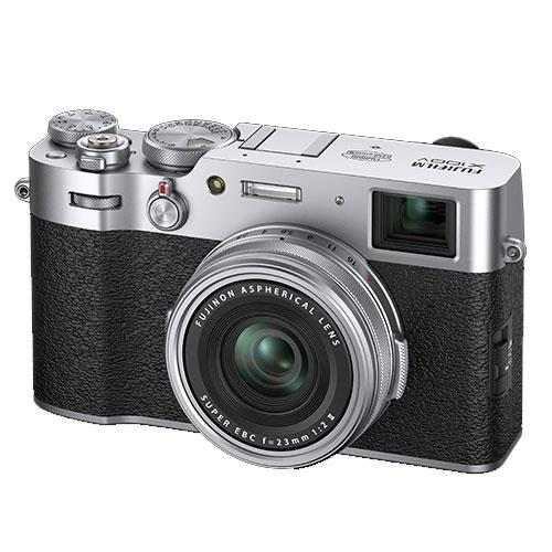 X100V Digital Camera in Silver Product Image (Secondary Image 2)
