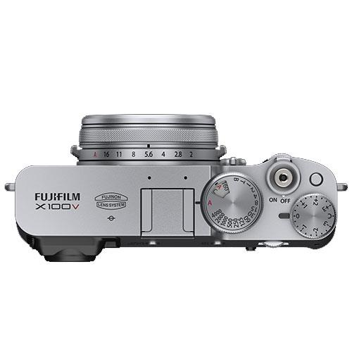 X100V Digital Camera in Silver Product Image (Secondary Image 3)