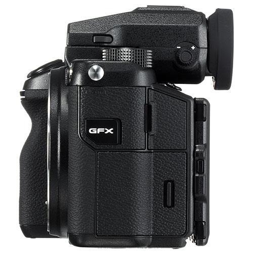 GFX 50S Mirrorless Medium Format Camera Body Product Image (Secondary Image 5)