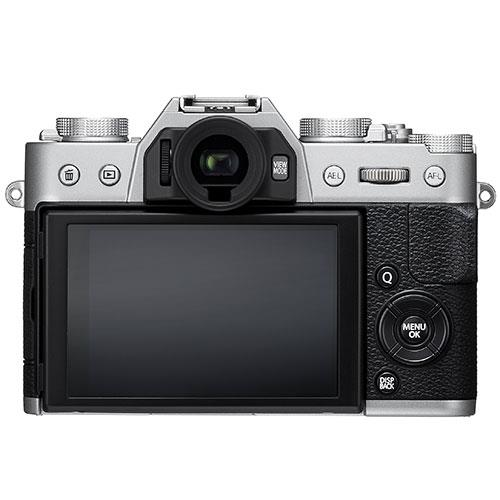X-T20 Mirrorless Camera Body in Silver Product Image (Secondary Image 1)