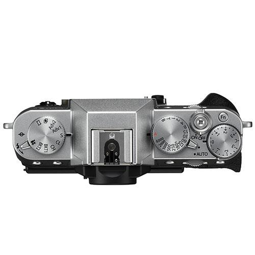 X-T20 Mirrorless Camera Body in Silver Product Image (Secondary Image 2)