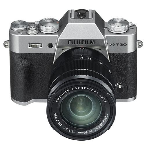 X-T20 Mirrorless Camera in Silver + 16-50mm Lens Product Image (Secondary Image 3)