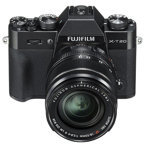 X-T20 Mirrorless Camera in Black + 18-55mm Lens Product Image (Secondary Image 2)
