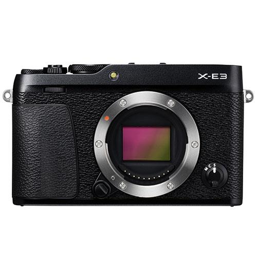 X-E3 Mirrorless Camera Body in Black Product Image (Primary)