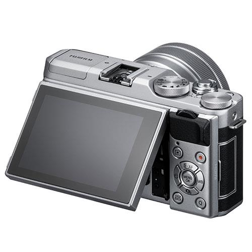 X-A5 Mirrorless Camera In Silver with XC15-45mm Lens Product Image (Secondary Image 2)