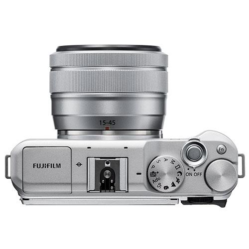 X-A5 Mirrorless Camera In Silver with XC15-45mm Lens Product Image (Secondary Image 4)