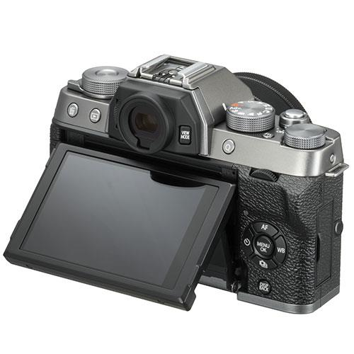 X-T100 Mirrorless Camera in Dark Silver + XC15-45mm lens Product Image (Secondary Image 3)