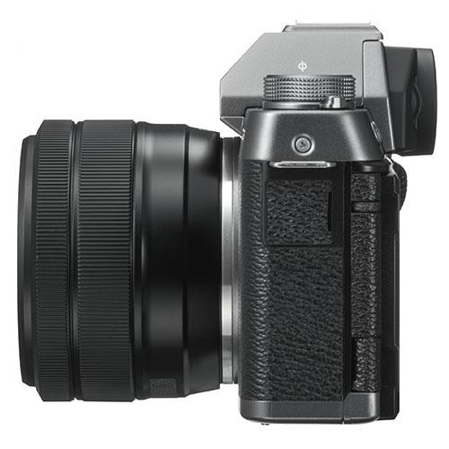 X-T100 Mirrorless Camera in Dark Silver + XC15-45mm lens Product Image (Secondary Image 5)