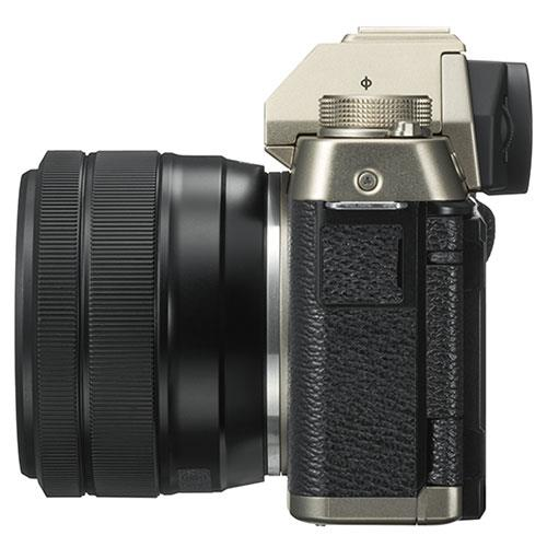 X-T100 Mirrorless Camera in Chanpagne Gold + XC15-45mm lens Product Image (Secondary Image 6)