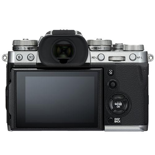 X-T3 Mirrorless Camera in Silver with XF18-55mm Lens Product Image (Secondary Image 2)