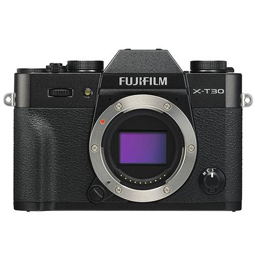 X-T30 Mirrorless Camera Body in Black Product Image (Primary)