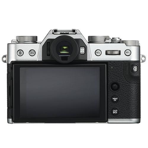 X-T30 Mirrorless Camera Body in Silver Product Image (Secondary Image 1)