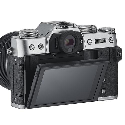 X-T30 Mirrorless Camera Body in Silver Product Image (Secondary Image 2)
