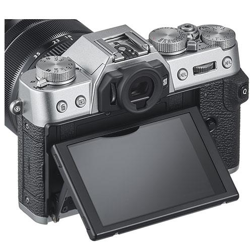 X-T30 Mirrorless Camera Body in Silver Product Image (Secondary Image 3)