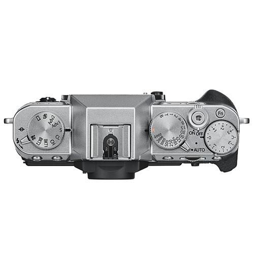X-T30 Mirrorless Camera Body in Silver Product Image (Secondary Image 4)