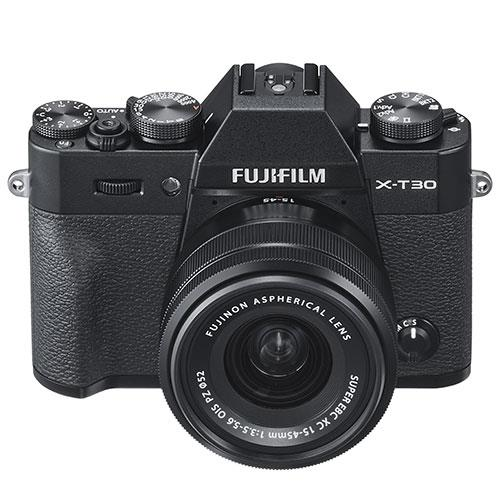 X-T30 Mirrorless Camera in Black with XC15-45mm  Lens Product Image (Secondary Image 2)